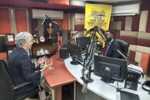 Gill interviewed on Royal FM Radio Station, Kwara State