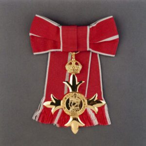 Image of an OBE awarded to ladies