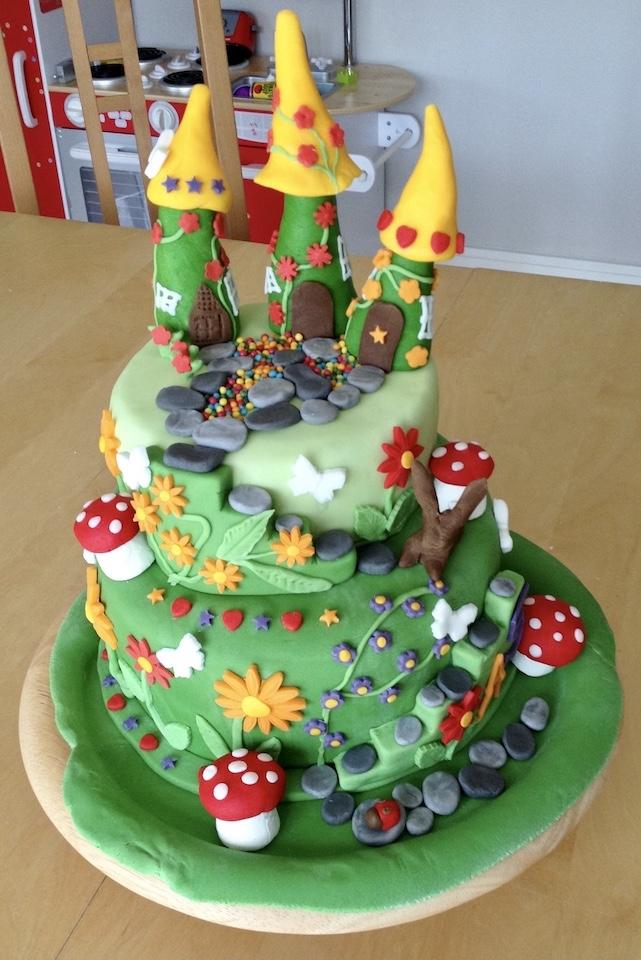 Image of child's birthday cake