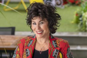 Author and comedienne Ruby Wax