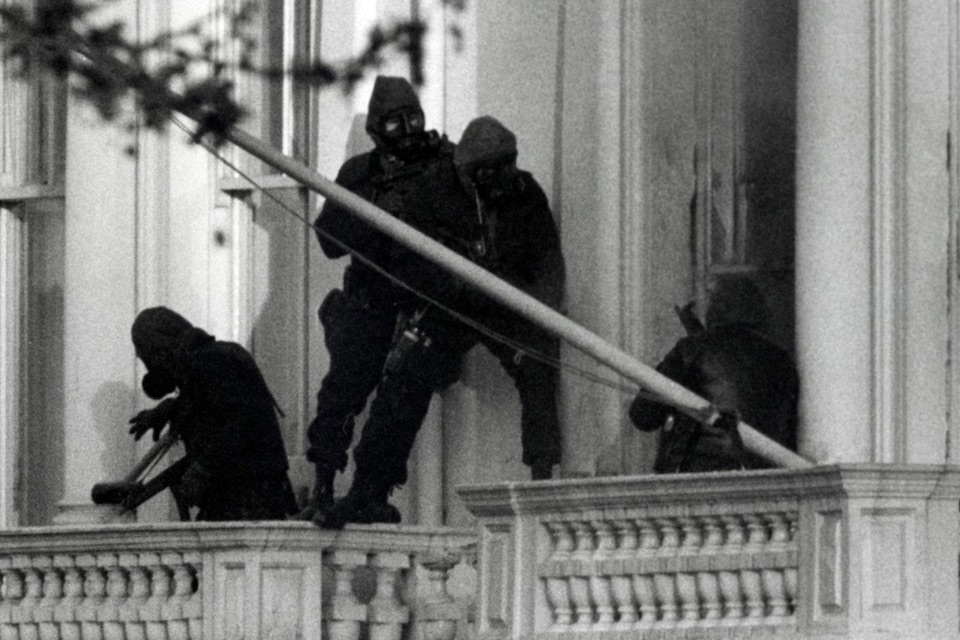Image taken from the famous SAS Embassy Raid
