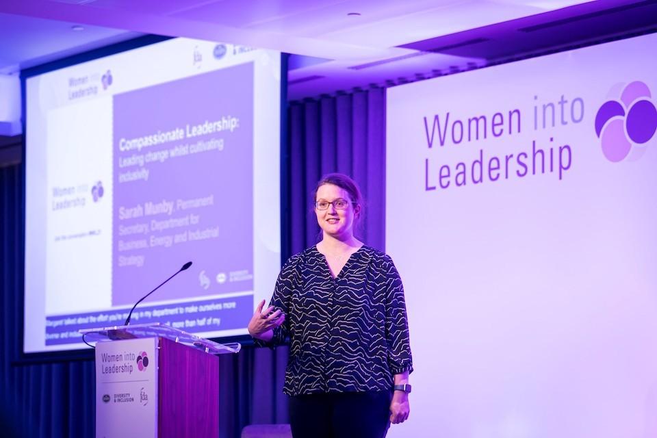 Women in Leadership, Sarah Munby, Permanent Secretary of BEIS